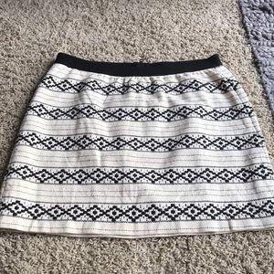 Gap tribal print skirt